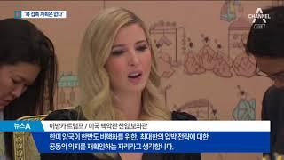 """""""북 만날 계획 없다""""…대북 압박 강조한 이방카 thumbnail"""
