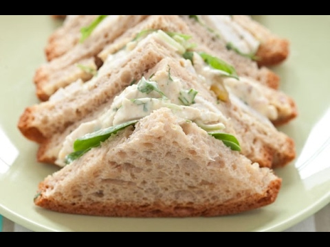 Cold Sandwich Recipe  How to make cold sandwich (Step by Step)