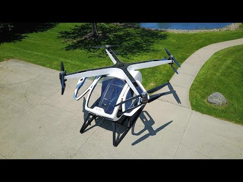 Ohio tech company built a massive drone than can carry