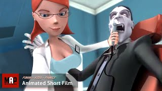 Funny CGI Animated Short Film ** VAMPIRE'S CROWN ** Funny Kids Animation by Hertfordshire University