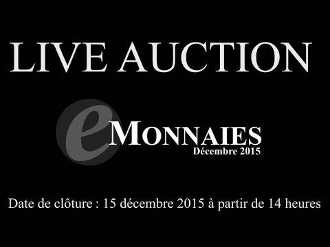 Live auction cgb.fr - Décembre 2015