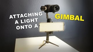 Video How To: Add and Attach a Light onto a Handheld Electronic Stabilizer Gimbal (Zhiyun Crane) Tutorial download MP3, 3GP, MP4, WEBM, AVI, FLV September 2018