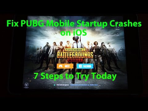 PUBG Mobile on iOS - 7 Steps to (Potentially) Fix Startup Crashes