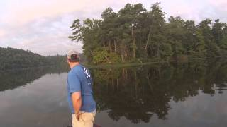 """Catfishing"" on the Warrior River"