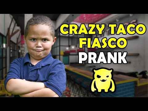 Crazy Taco Fiasco Prank - Ownage Pranks