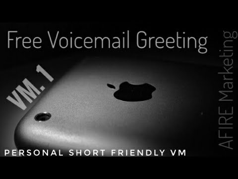 Free use voicemail greeting 1 personal short friendly youtube free use voicemail greeting 1 personal short friendly m4hsunfo
