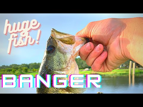 Fishing In Private Pit (big Bass Caught)🔥🔥