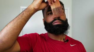 6 Steps To Stỳle Coarse And Curly Beard | Secret Beard Tool