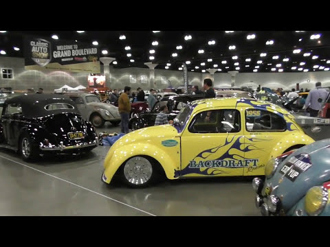 CLASSIC AUTO SHOW LA 2017 Los Angeles Convention Center VIDEO 2 OF 4