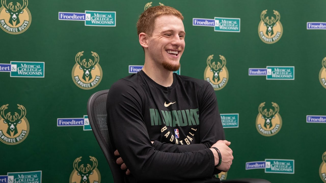 """My body feels amazing. Mentally I feel amazing."" Donte DiVincenzo Press Conference 