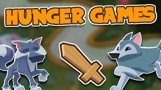 HUNGER GAMES IN ANIMAL JAM