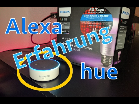 amazon alexa und philips hue meine erfahrungen smart home youtube. Black Bedroom Furniture Sets. Home Design Ideas