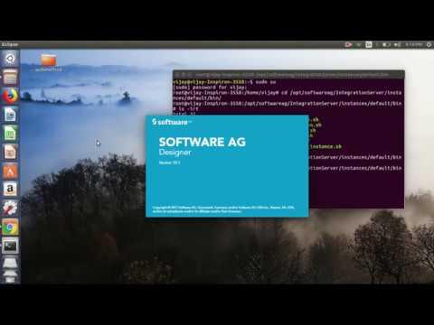 Sag Webmethod Training Tutorial 11 Install Trail Version Of Webmethod Linux Youtube