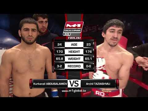 Kurbanali Abdusalamov Vs. Archil Taziashvili, M-1 Challenge 55, M-1 Global - FREE