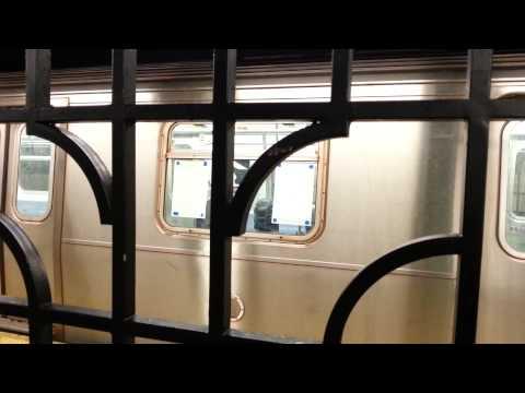 BMT Brighton Line: R160A Q Train at Avenue M