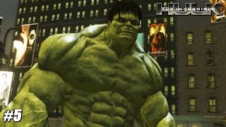 The Incredible Hulk - Wii Playthrough Gameplay 1080p (DOLPHIN) PART 5