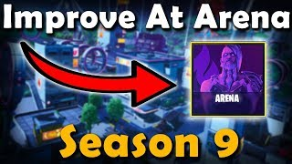 How To Get Better At ARENA In Season 9! (Fortnite Ranked Mode) | VonHooli