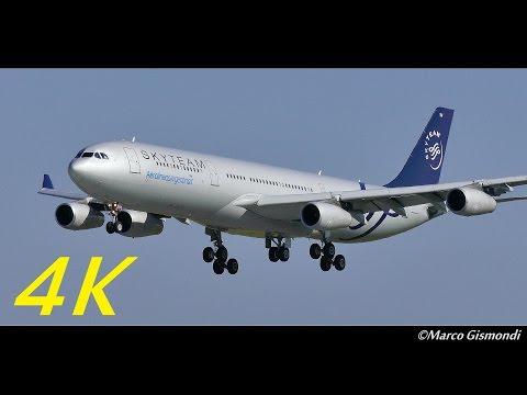 [SKYTEAM] Aerolineas Argentinas A340-313X @ Rome FCO