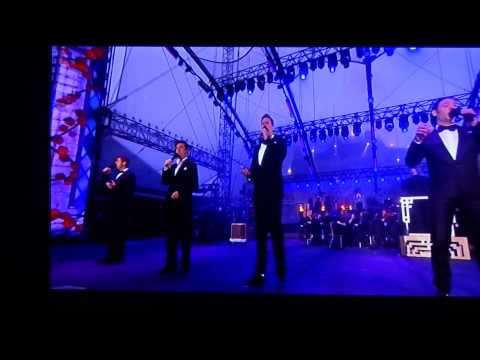 Il Divo Live At Edinburgh Castle, Amazing Grace