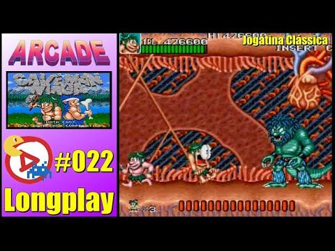 Arcade Longplay Joe & Mac Caveman Ninja - Course: A,B,A,B 1CC