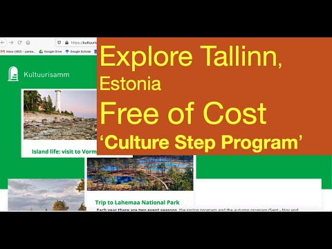 Explore Tallinn, Estonia Free of Cost   Culture Step Program