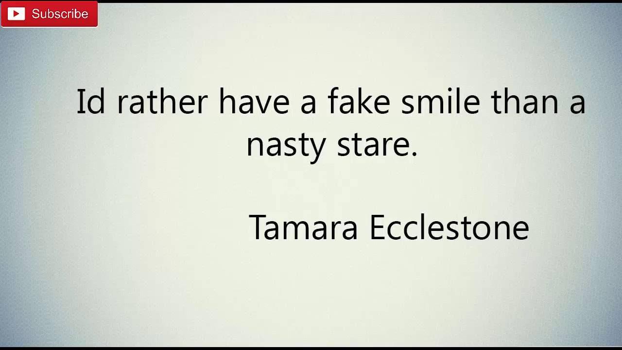 Fake Smile Quotes Youtube