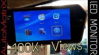 """Woodman 7"""" Rear view LED Monitor Review (HINDI)"""