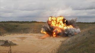 Rydning af skarp ammunition i Letland