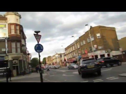 Walk along Uxbridge Rd   -  Acton High Road  in London