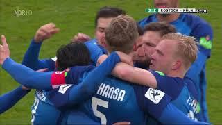 Hansa Rostock gegen Fortuna Köln - 17. Spieltag 17/18 - Tore