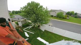 Fence Install Time-lapse