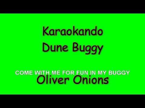 Karaoke Internazionale - Dune Buggy - Oliver Onions ( Lyrics )