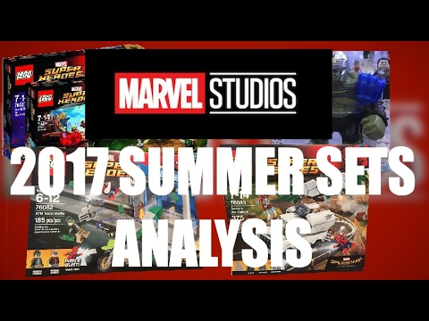 LEGO Marvel Super Heroes   Summer 2017 Wave SET PICS And Analysis