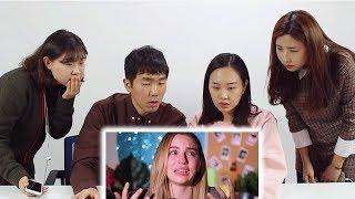 Корейцы смотрят Марьяну Ро / 러시아 인기 유투버 '마리아나 로' / Реакция корейцев на Мариану Ро / Мега-звезда