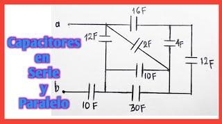Capacitores en serie y paralelo ejercicios resueltos pdf