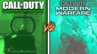 Call of Duty 4 Night Vision vs Modern Warfare Night Vision
