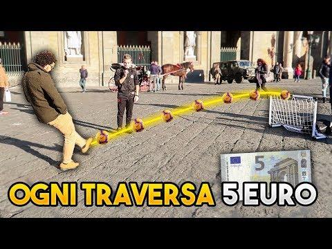 REGALO 5€ per ogni TRAVERSA COLPITA! 💶
