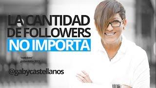 """""""La cantidad de followers no importa"""" entrevista a Gaby Castellanos sobre Social Media"""