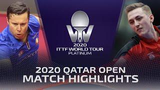 Владимир Самсонов vs Lin Gaoyuan | Qatar Open 2020 (R32)