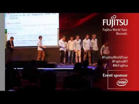 Punch Powertrain Solar Team Announcement - Fujitsu World Tour 2017 Brussels