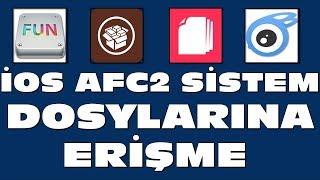 İPHONE İPAD SİSTEM DOSYALARINA ERİŞME GÖRÜNTÜLEME AFC2 TWEAK 9X