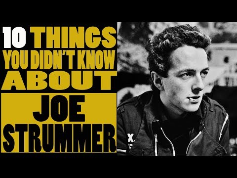 10 Facts you didn't know about Joe Strummer of The Clash