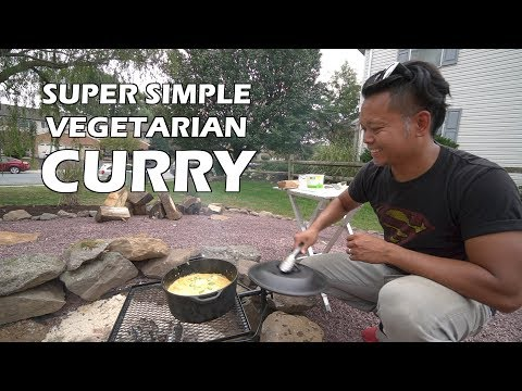 VEGETARIAN Campfire CURRY