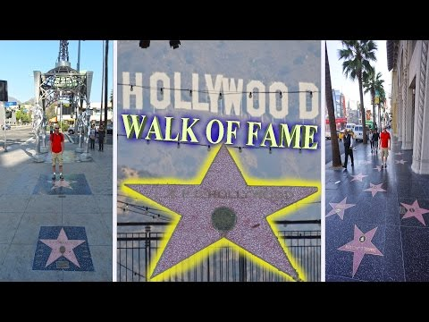 Hollywood - Walk Of Fame 4K