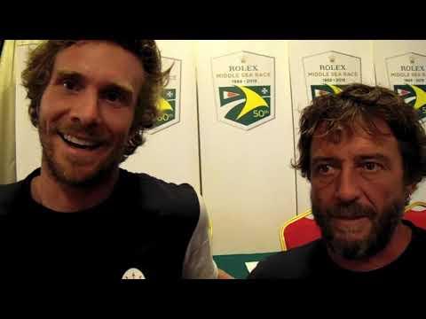 Rolex Middle Sea Race: Giovanni Soldini e Vittorio Bissaro