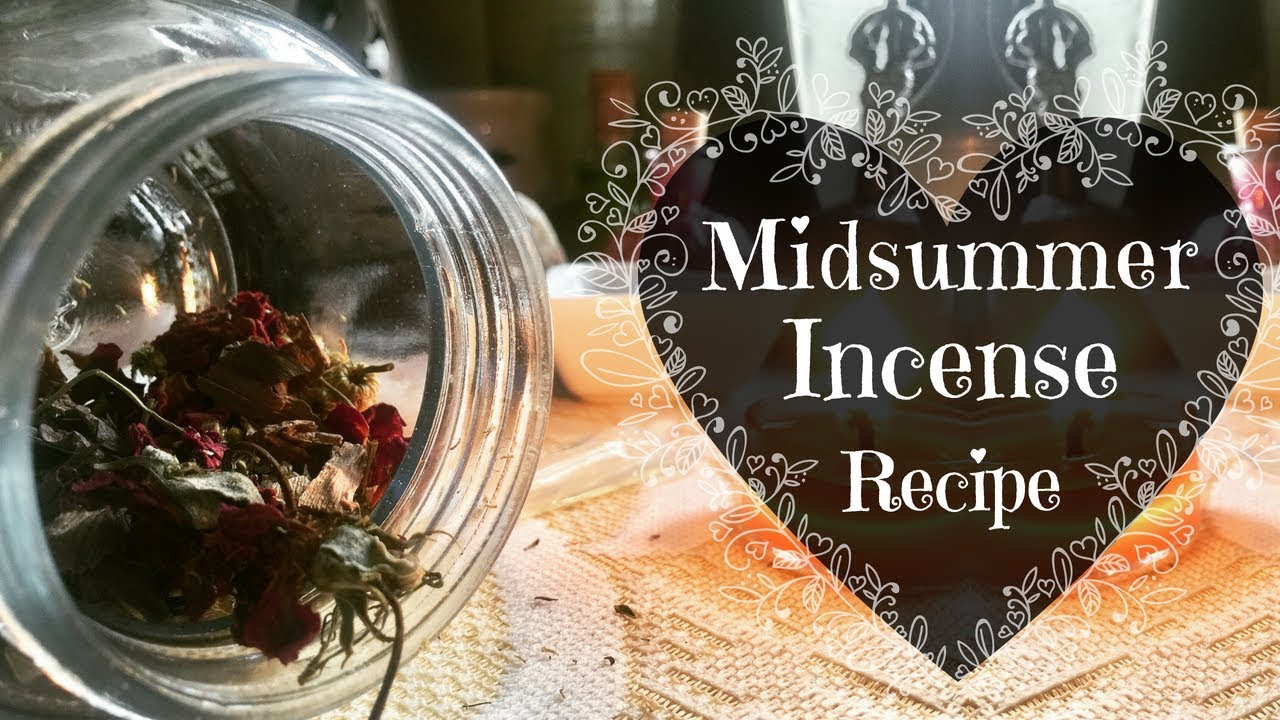 Midsummer Ritual Incense Recipe | The Two Wizards