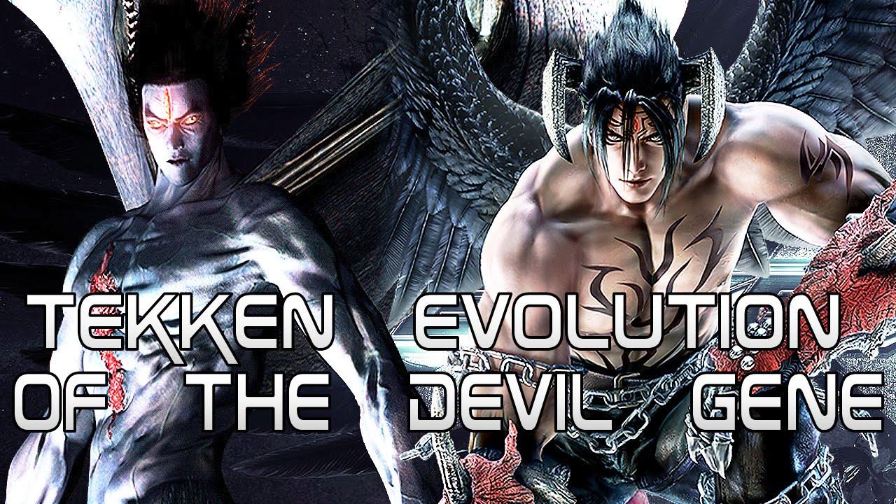 Tekken Evolution Of The Devil Gene Devil Kazuya Devil Jin Devil Kazumi Youtube