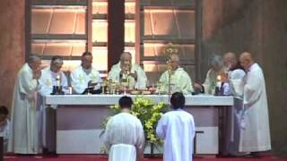 023 Prex eucharistica I Solemn Pontifical Mass in Gregorian Chant