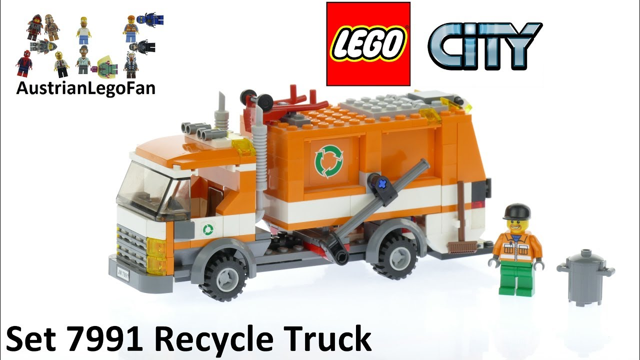 Download Lego City 7991 Recycle Truck - Lego Speed Build Review