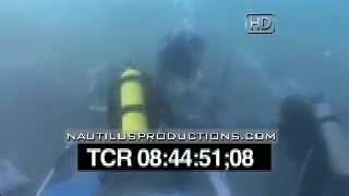 Queen Anne's Revenge Blackbeard Wreck Site & Flyover Video Nautilus Productions HD Stock Footage